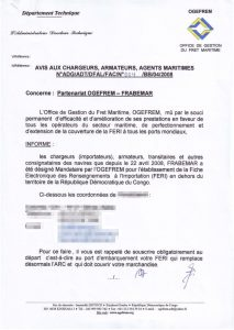 chungthuFERI-Congo - kunna logistics